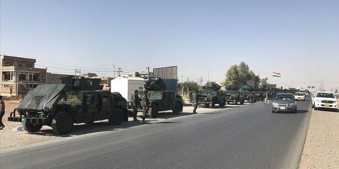 Irak ordusu Peşmerge'nin Kerkük'e ilerleyişini durdurdu