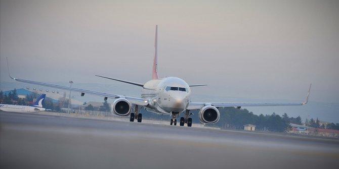 Türkiye'nin sivil hava yolu filosunda 554 uçak bulunuyor