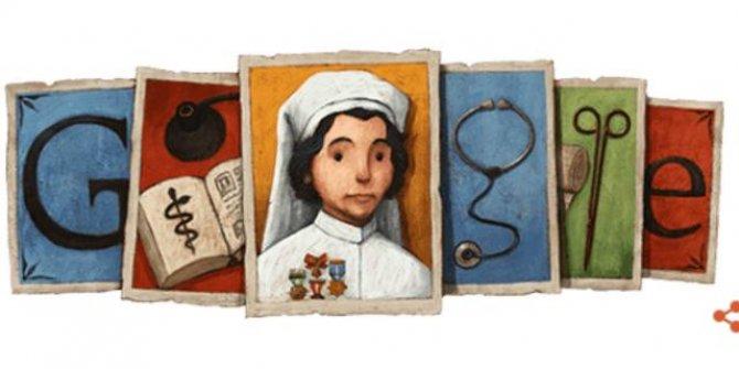 Google'dan Safiye Ali'ye özel doodle