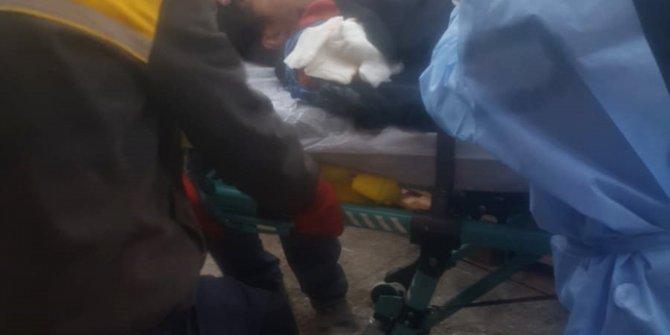 Kolunu yükleme bandına kaptıran işçi, yaralandı