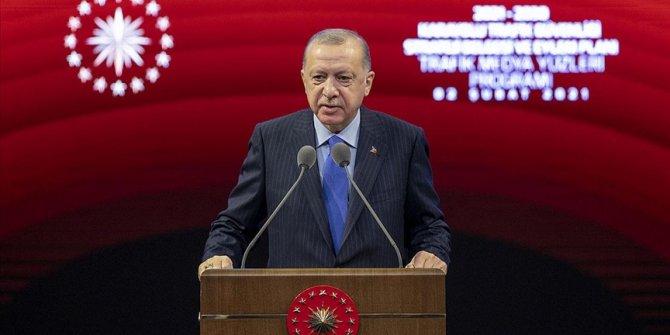 Erdoğan: Herkesin trafik güvenliği hususundaki çalışmalara destek vermesi şart