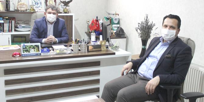 Abdurrahman Fidancı'dan Yeni Haber'e ziyaret