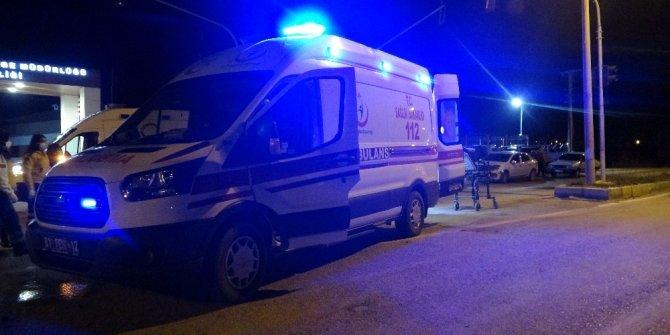 112 sağlık çalışanları ölümden döndü