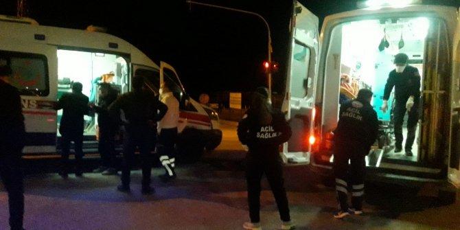 Ambulans ile çarpışan otomobil sürücüsü alkollü çıktı