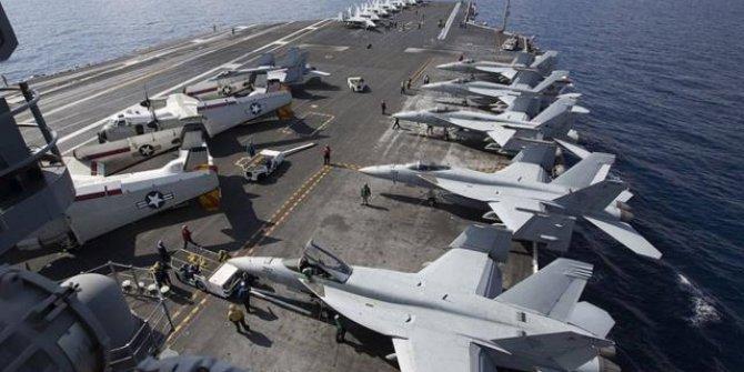 ABD uçak gemisini Orta Doğu'dan çekti