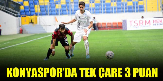 Konyaspor'da tek çare 3 puan