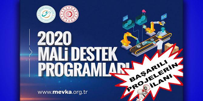 MEVKA'dan 34 eğitim projesine destek