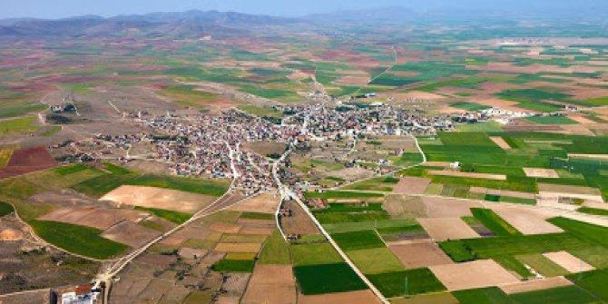 Konya'nın ilçesinde 50 bin 100 metrekare tarla satışa çıktı