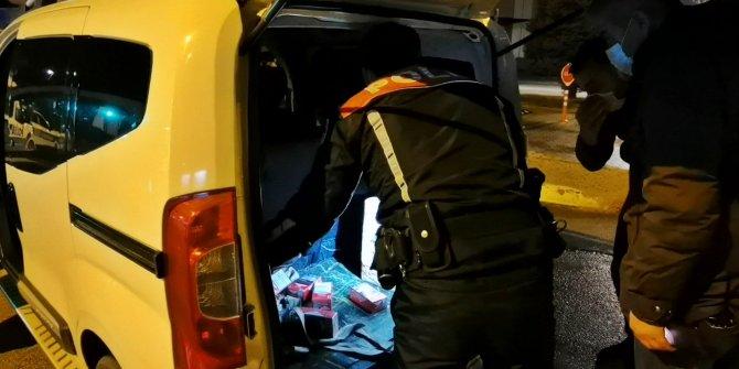 Kısıtlamada alkollü yakalanan sürücüye5 bin 623 lira ceza kesildi