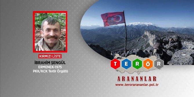 PKK/KCK'nın kırmızı kategoride aranan sözde Amanos saha sorumlusu etkisiz hale getirildi
