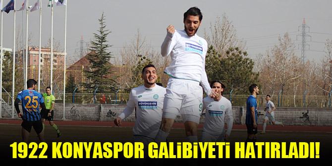 1922 Konyaspor galibiyeti hatırladı!