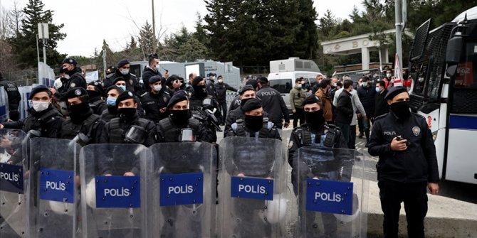 Boğaziçi Üniversitesi'nde gözaltına alınan 51 kişi adliyeye sevk edildi