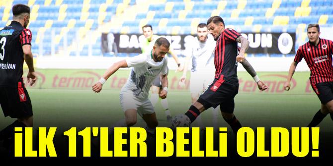 Konyaspor - Gençlerbirliği | İLK 11'LER BELLİ OLDU