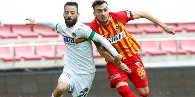 Kayseri'de gol var kazanan yok