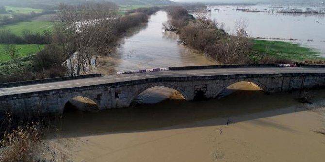 Ergene Nehri'nde kırmızı alarm verildi