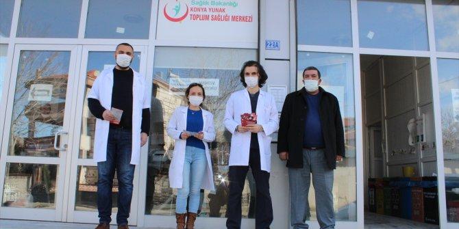 """Yunak'ta """"Dünya Kanser Günü"""" etkinliği düzenlendi"""