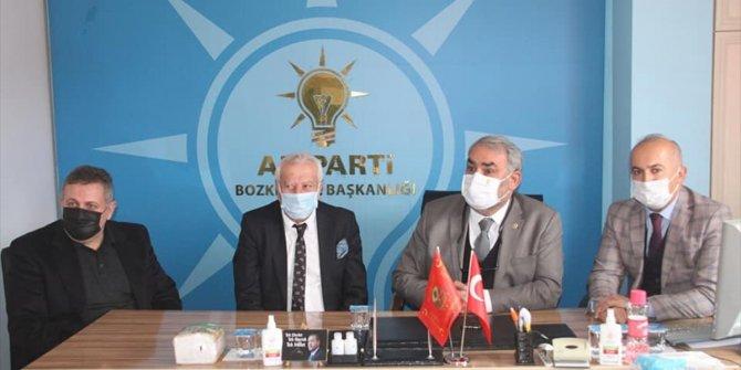 AK Parti Konya Milletvekili Halil Etyemez, Bozkır'ı ziyaret etti