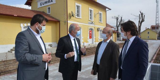 Milletvekili Sorgun, Çumra'da incelemelerde bulundu