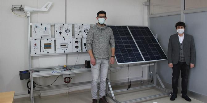 Karapınar MYO, hem elektrik üretiyor hem de ara eleman yetiştiriyor