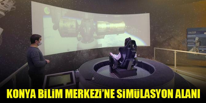 Konya Bilim Merkezi'ne simülasyon alanı kuruldu