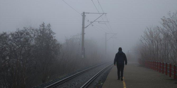 Edirne ve Tekirdağ'da yoğun sis etkili oluyor