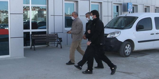 Konya'da yeğenini tabancayla yaralayan kişi tutuklandı