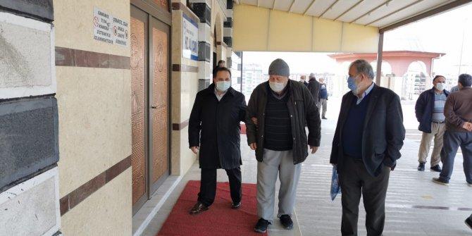 Hacı Ahmet Özdemir  eski dostlarıyla buluştu