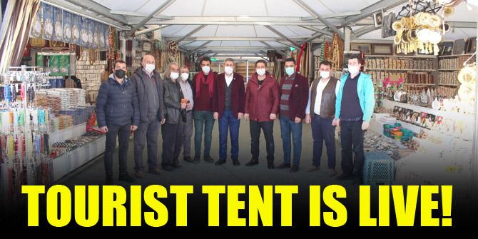 Tourist tent live!