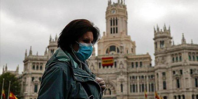 İspanya'da bir günde koronavirüsten 584 can kaybı