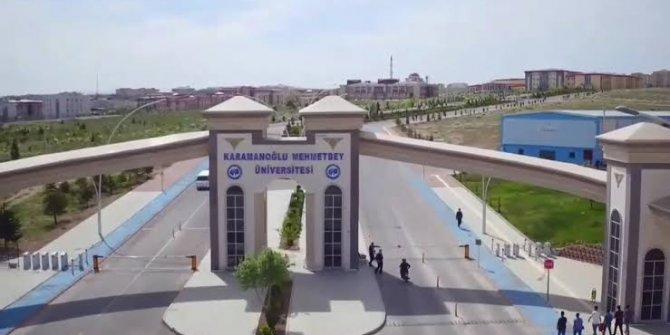 Karamanoğlu Mehmet Bey Üniversitesi'nin rektörü değişti!