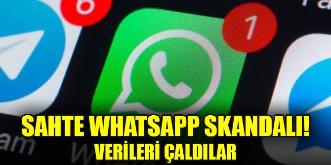 Sahte WhatsApp skandalı! Verileri çaldılar