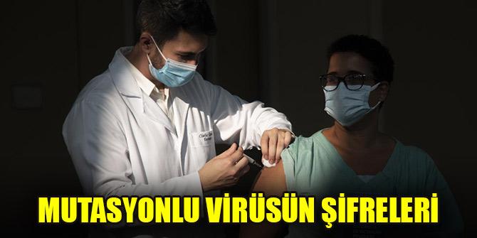 Mutasyonlu virüsün şifreleri