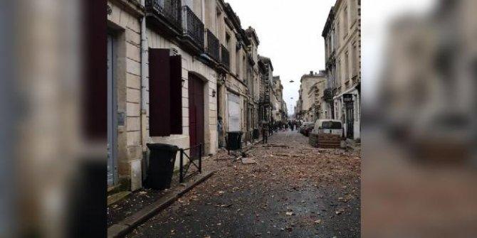 Fransa'da patlama: 3 kişi yaralandı