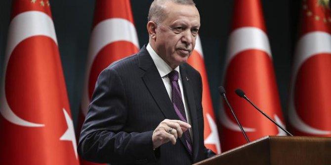 Cumhurbaşkan Erdoğan, Menfi ve Dubeybe ile görüştü