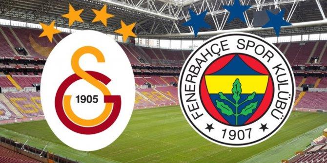 Fenerbahçe - Galatasaray! İlk 11'ler