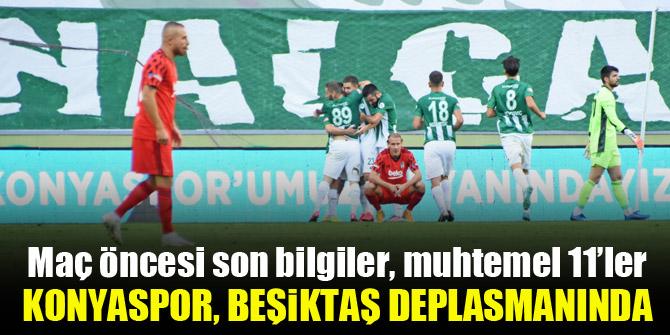 Konyaspor, Beşiktaş deplasmanında