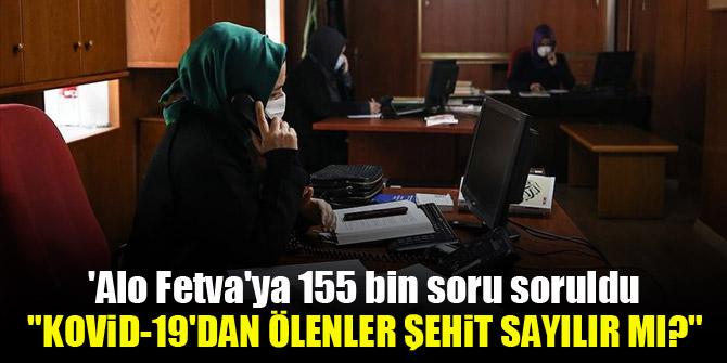 'Alo Fetva'ya 155 bin soru soruldu