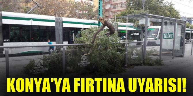 Konya'ya fırtına uyarısı!
