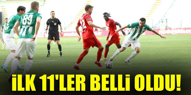 Beşiktaş - Konyaspor | İLK 11'LER!