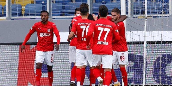 Ankara'da 3 puan Sivasspor'un