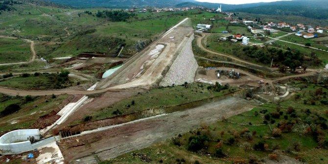 Sarma Barajının yüzde 85'i tamamlandı