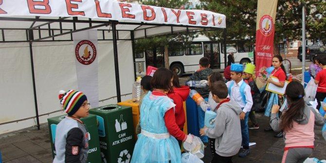Seydişehir'de 720 ton atık, geri dönüşüme kazandırıldı