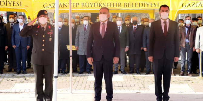 Gaziantep'e 'Gazi' unvanının verilişinin 100'üncü yılı törenle kutlandı