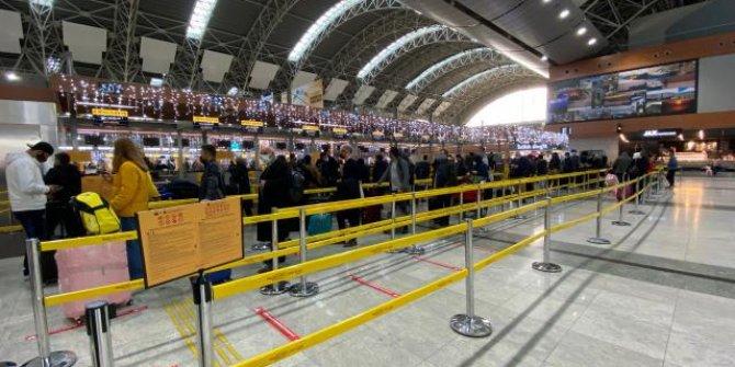Ocak ayında Türkiye havalimanları 5,2 milyon yolcuyu ağırladı