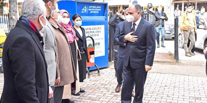 Vali Özkan, ilçelerdeki  yatırımları inceledi
