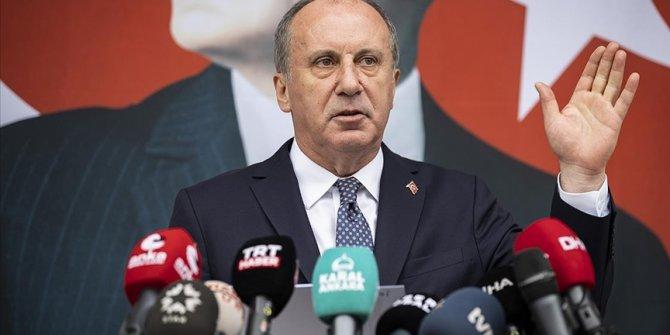 Muharrem İnce e-Devlet üzerinden CHP üyeliğinden istifa etti