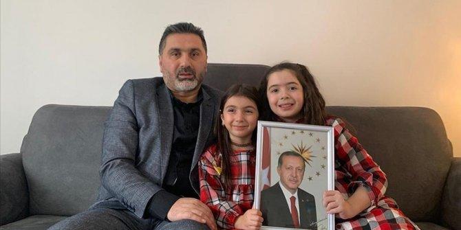 Cumhurbaşkanı Erdoğan'ın mektubunu okuması 9 yaşındaki Sena'yı duygulandırdı