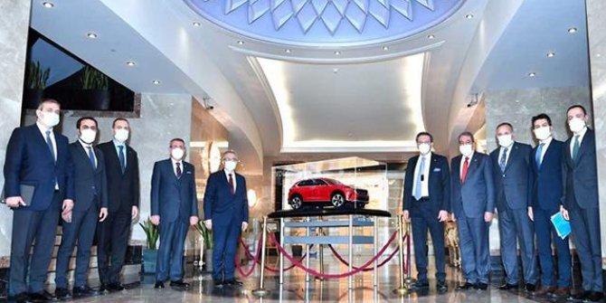 TCMB Başkanı Ağbal, TOBB Başkanı Hisarcıklıoğlu'nu ziyaret etti