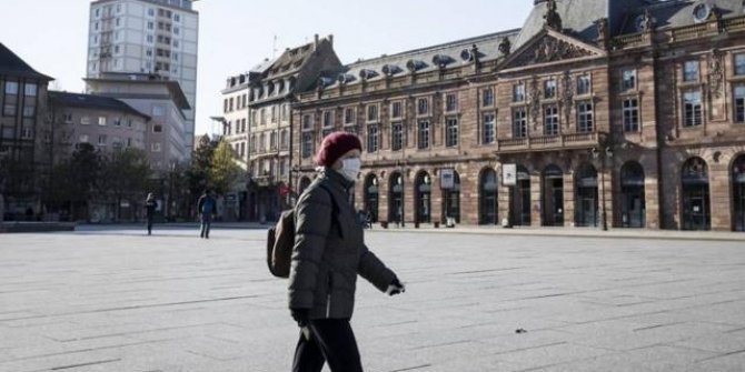 Fransa'da son 24 saatte 460 can kaybı