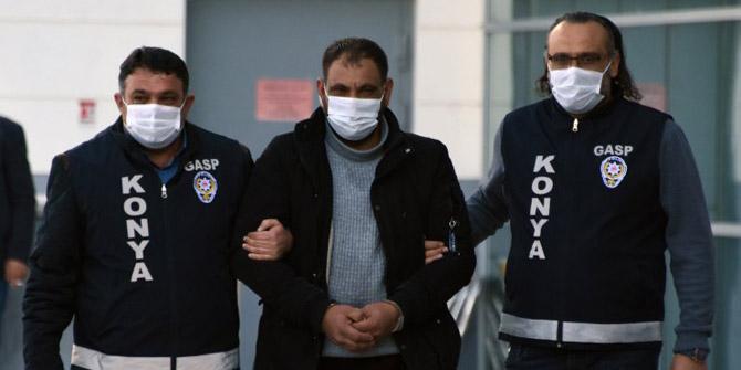 Konya'da kuyumcudan sahte bilezikleri çalan şüpheli tutuklandı